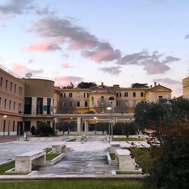#Buongiorno Sapienza con una foto dell'Edificio del Teatro Ateneo di @travel.as.much.as.possible ・・・ #Repost: «Day ��🌅 #sunset#rhome#lasapienza#travelasmuchaspossible#romatoday#enjoy#littlethings#explore#study#tramonto#buonasera#igersworl