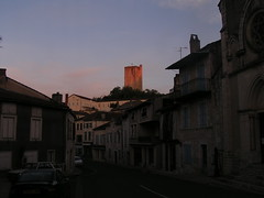20080917 38432 1018 Jakobus Montcuq Häuser Turm - Photo of Fargues