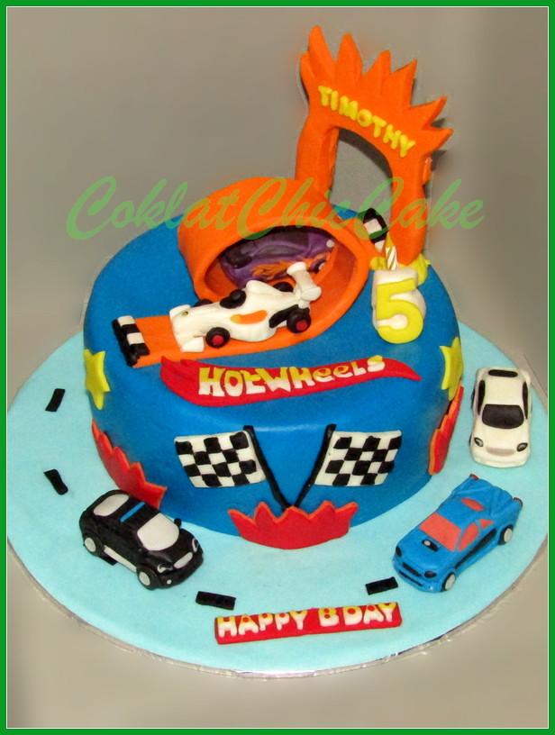 Cake HotWheels TIMOTHY 20 cm