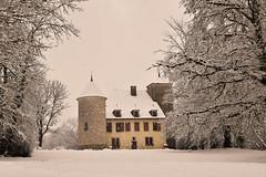 Le château de Maisod (Jura)