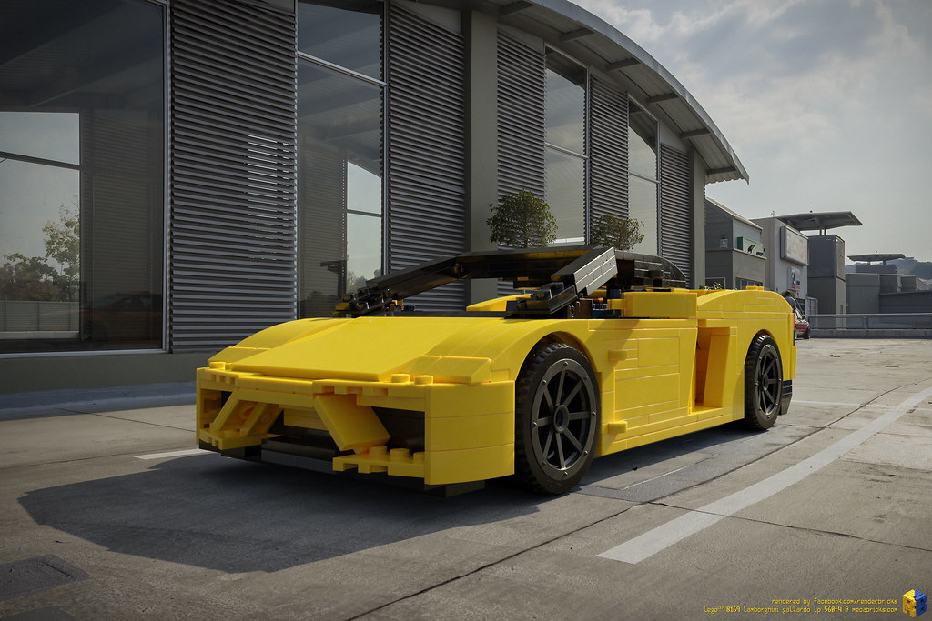 LEGO® 8169 #Lamborghini #Gallardo LP 560-4