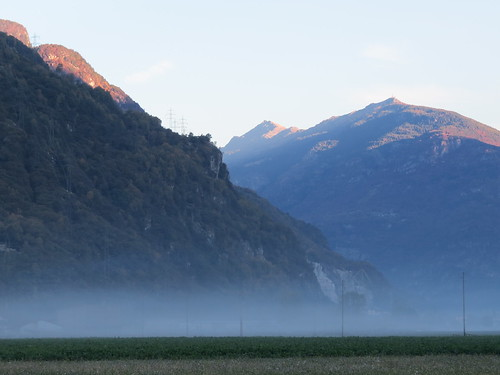Le jour se lève. Les fantômes dans la brume peuvent s'en aller