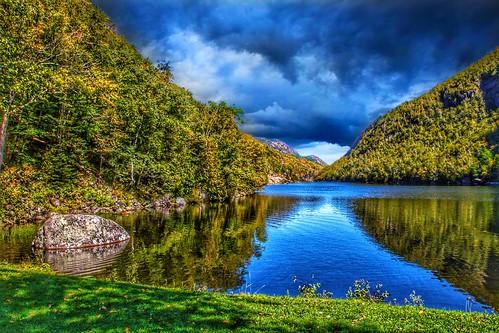 Lake Placid   New York  ~ Adirondack National Park ~ Historic - Reflection