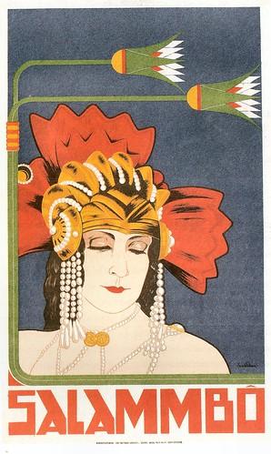 Salammbo, 1924, o Frans Bosen