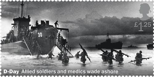 Royal Mail D-Day stamp withdrawn design