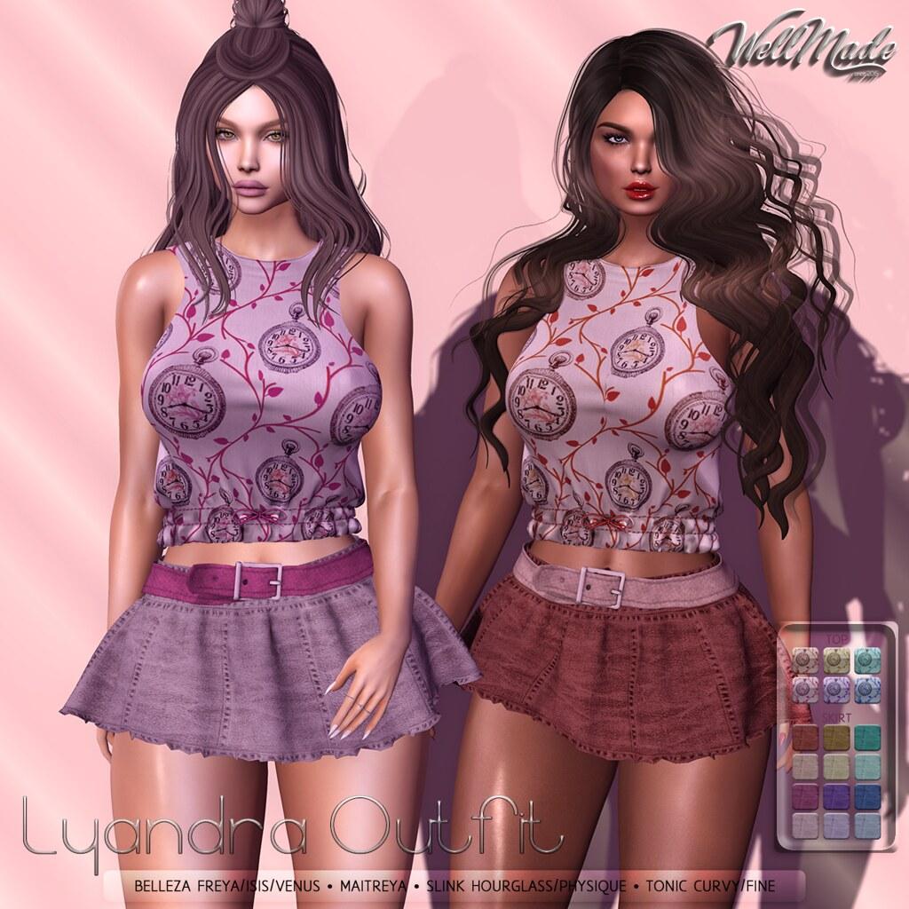 [WellMade] Lyandra Outfit - TeleportHub.com Live!