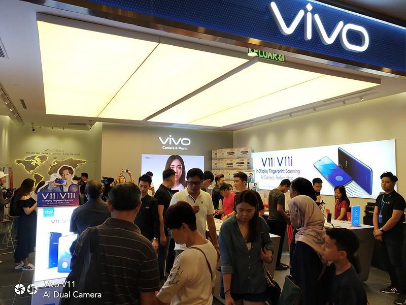 Pembukaan Store Konsep Vivo