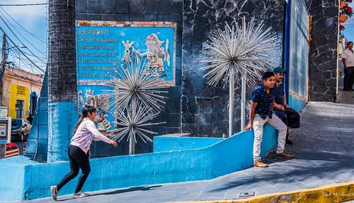 2018 - Mexico - Atlixco - Fuente Macuilxochitl