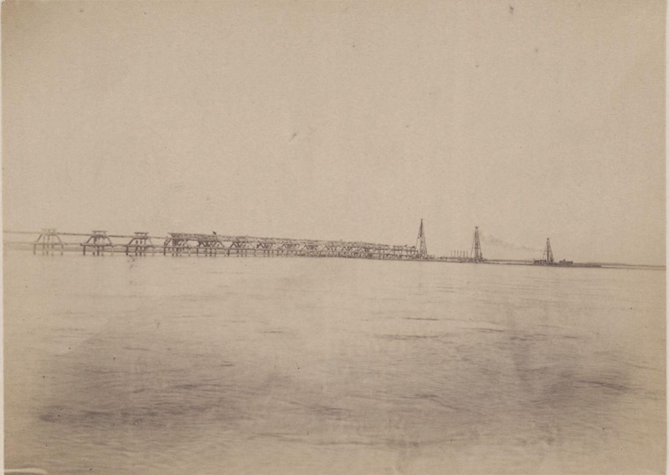 07. Амударья. Мост. Общий вид