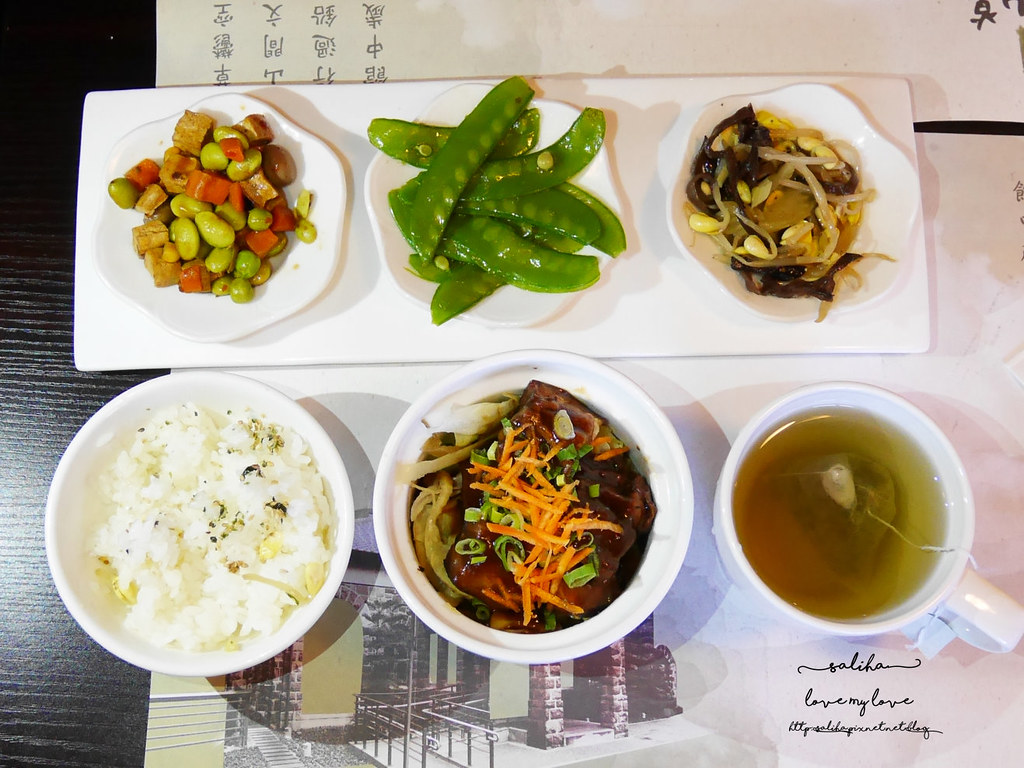 台北陽明山餐廳草山行館午餐餐點套餐內容 (1)