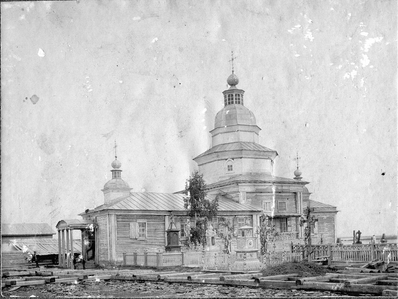 Воскресенская церковь Спасского мужского монастыря