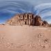 Ad Deir (the monastery) 360 panorama, Petra, Jordan by Sitoo
