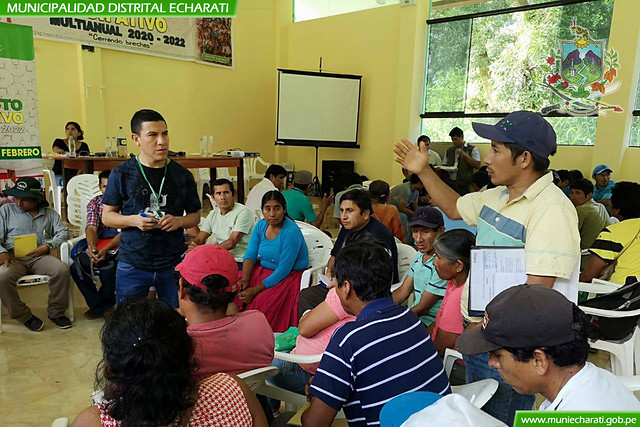 Primer Taller Descentralizado del Presupuesto Participativo Inició en el Centro Poblado de Pangoa