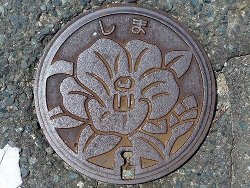 Shima Fukuoka, manhole cover 2 (福岡県志摩町のマンホール2)