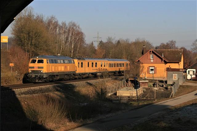 21.02.2019 218 471-2 mit Mess-Nbz 90xxx TBIB Biberach Süd