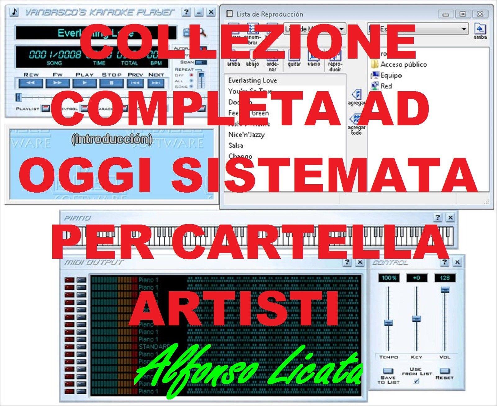 Fiori Bianchi X Te Karaoke.Basi Karaoke Midi Collez Completa Ordinata E Aggiornata Maggio