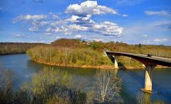 The Potomac River Bend at the Route 34 Bridge (WV-MD) April 2019