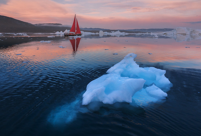 Red Sails in Greenland