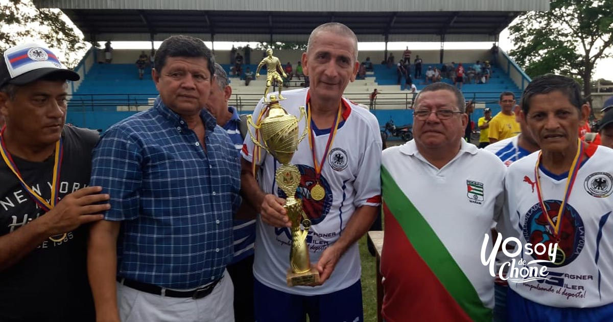 Juan Montalvo campeón del Súper Máster - Copa Chino Bravo