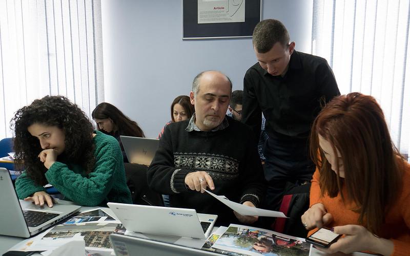 Ռուսլան Լևիևը Երևանում դասընթացի ժամանակ