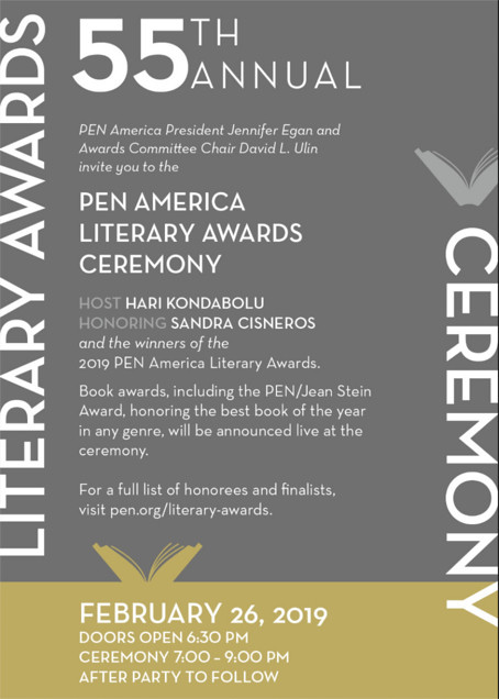 2019 PEN America Literary Awards Ceremony