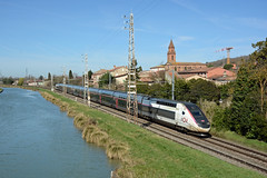 TGV 854 (TGV 8503), Pompignan, Sunday 3 March 2019