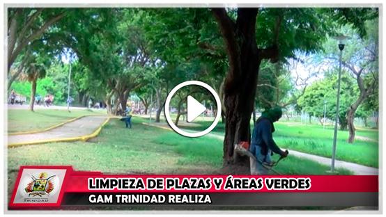 gam-trinidad-realiza-limpieza-de-plazas-y-areas-verdes