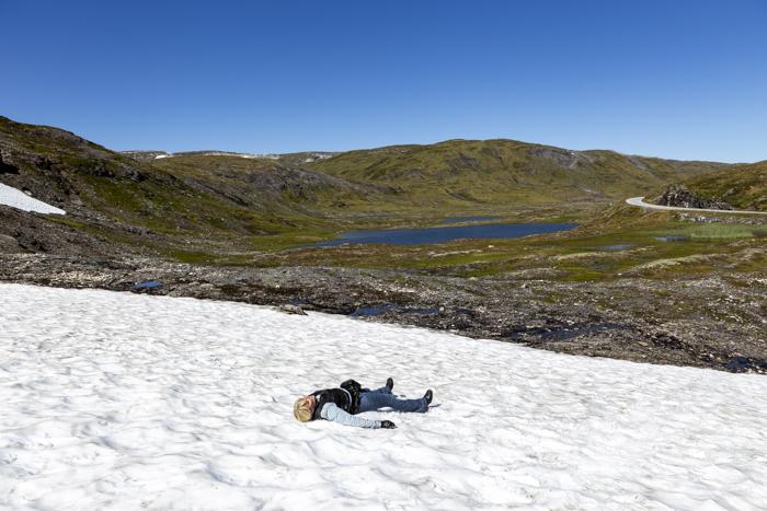 Norja Norge Norway Sogn og Fjordane lunta kesällä _