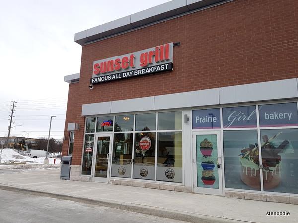Sunset Grill Markham storefront
