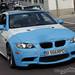 White BMW E92 3-Series