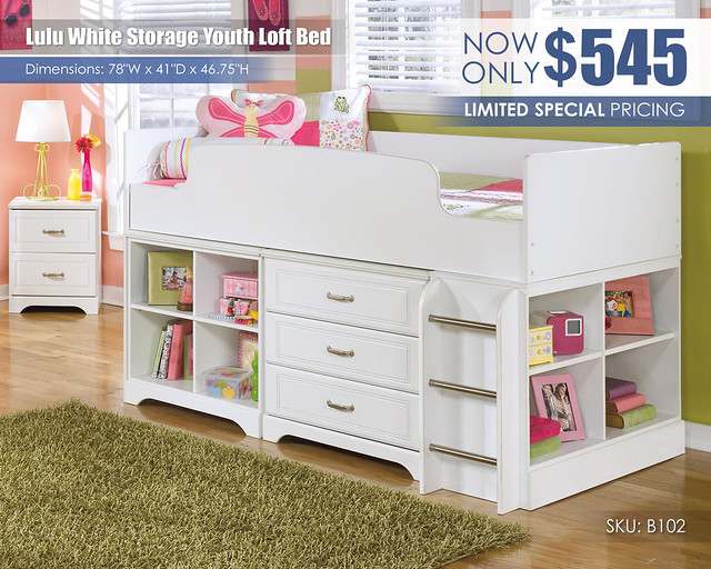 Lulu Youth Storage Loft Bed_B102-68T-16-19-17