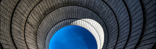 Gootchaï 's Photoblog: L'intérieur de la tour de refroidissement 4/4