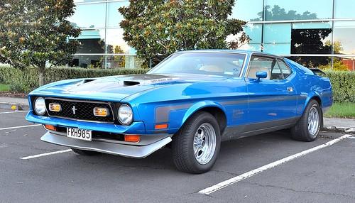 1972 Ford Mustang Mach1 Ram-Air