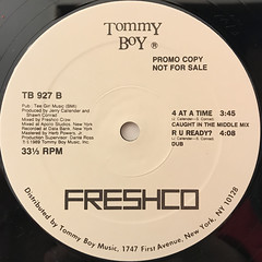 FRESHCO:4 AT A TIME(LABEL SIDE-B)