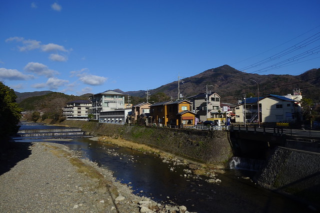 松ヶ崎橋から高野川・比叡山方面#02 (2019/01)