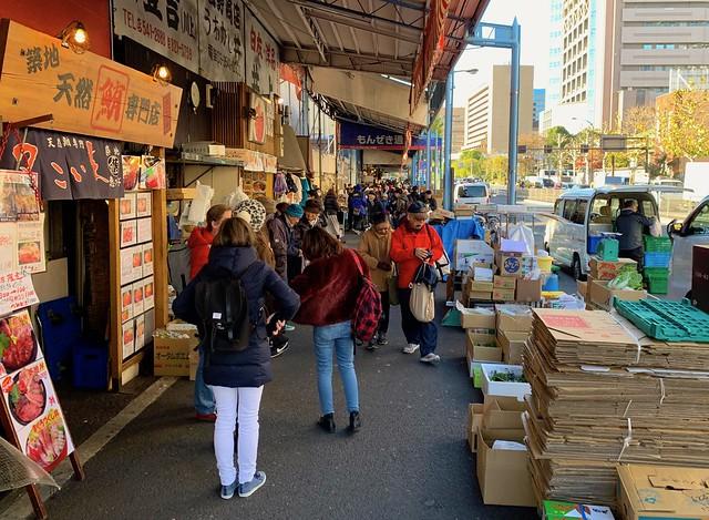Tsukiji fish market 2018 13