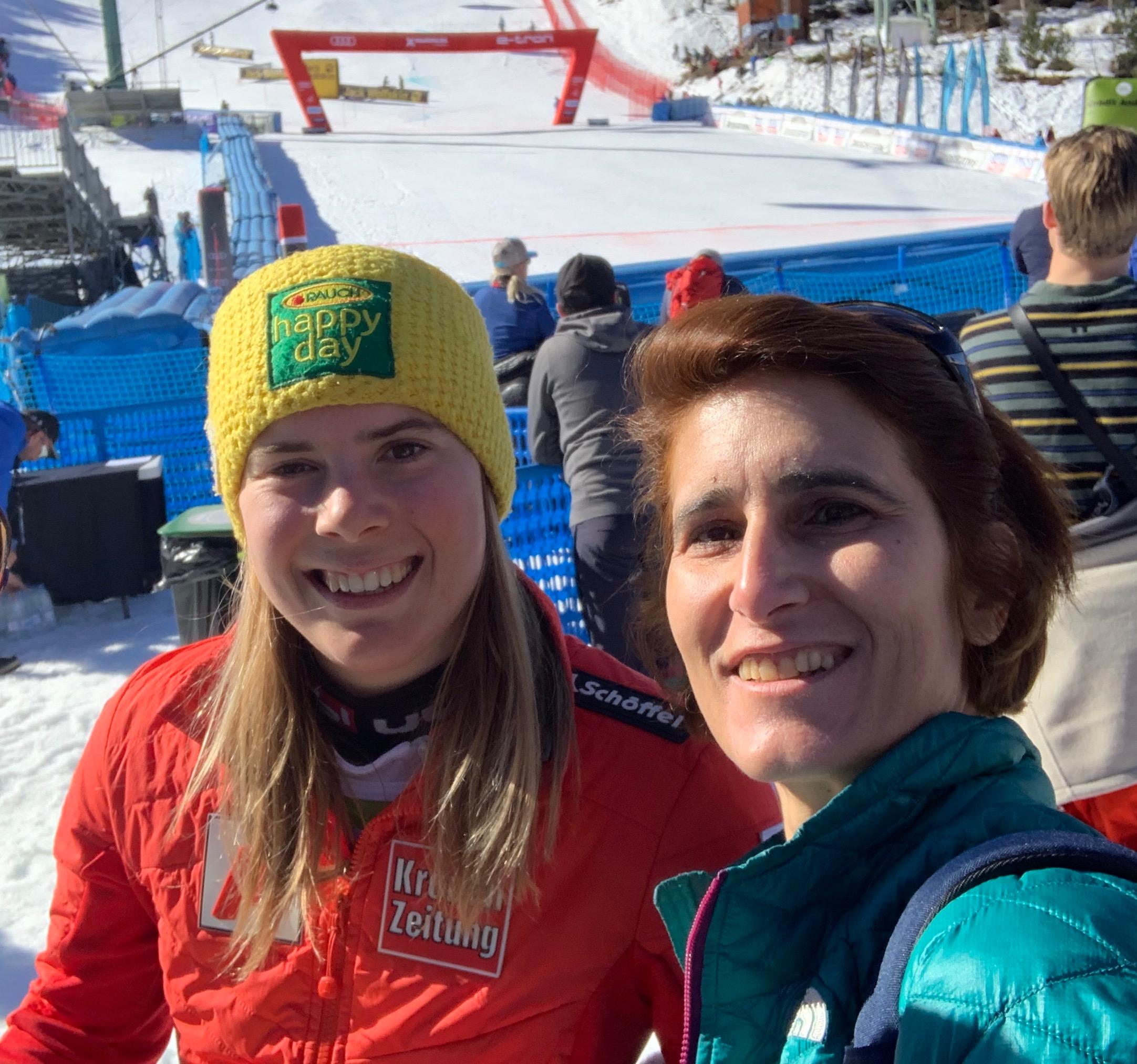 Con Katharina Liensberger