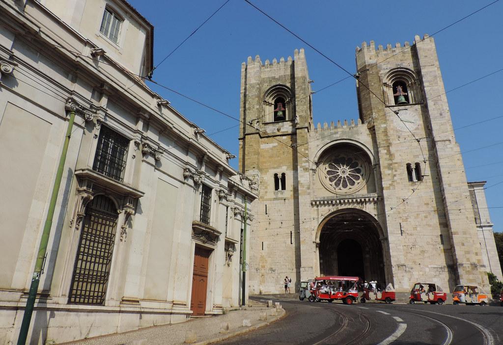 Sé de Lisboa, Lisbon, Portugal