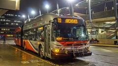 WMATA Metrobus 2009 New Flyer DE60LFA #5436