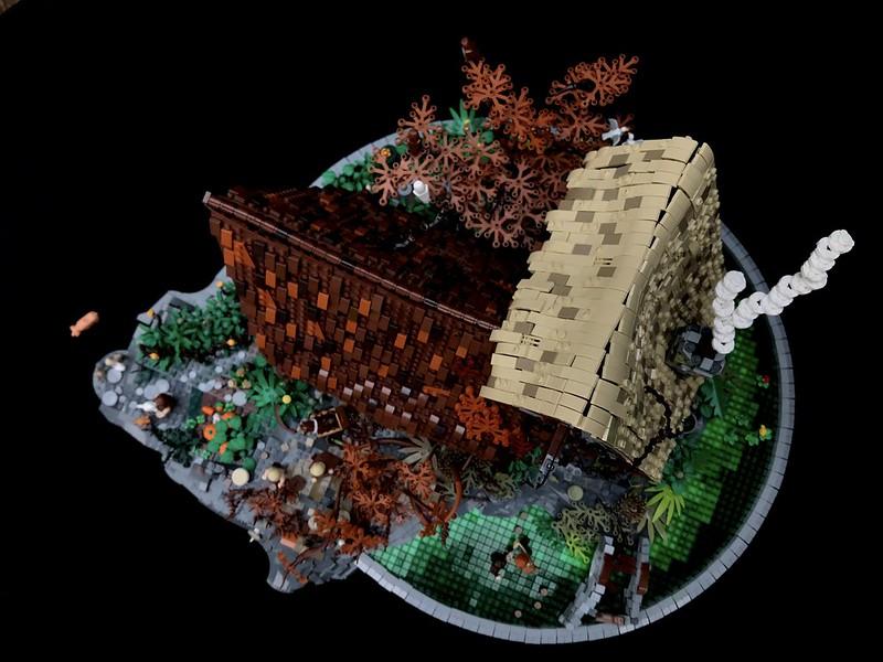 LEGO MOC: Casa medievale fantasy