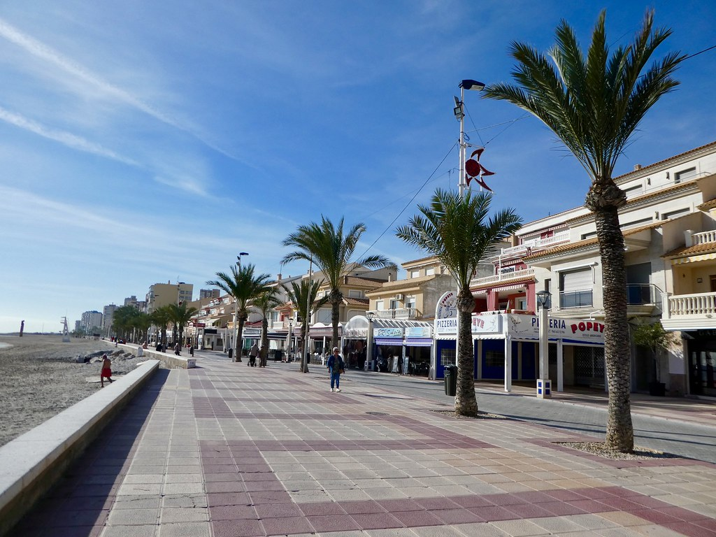 The promenade at El Campello