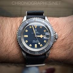 Tudor Submariner 94110. Fifty shades of blue...
