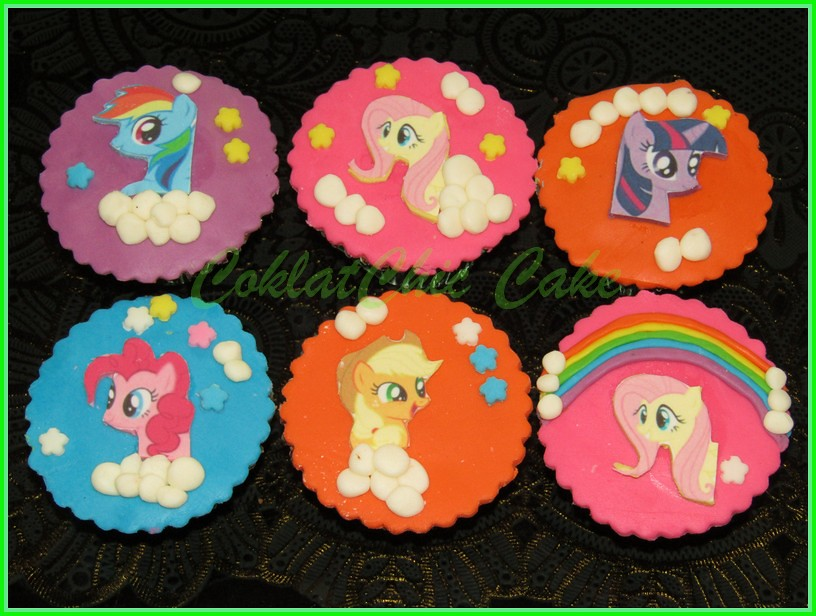 cupcake edible my little pony
