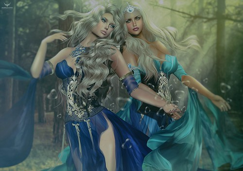 Scarlett and Lady~Our Fantasy, our love