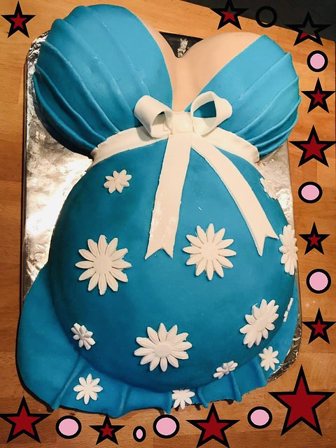 Baby Shower Cake by Afshan Usman from Mama's Kitchen