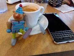 #AgaveLoco #Cancun #Mexico #coffee #coffeetime #espresso #Blackberry #KeyOne #blackberryclubs #happy