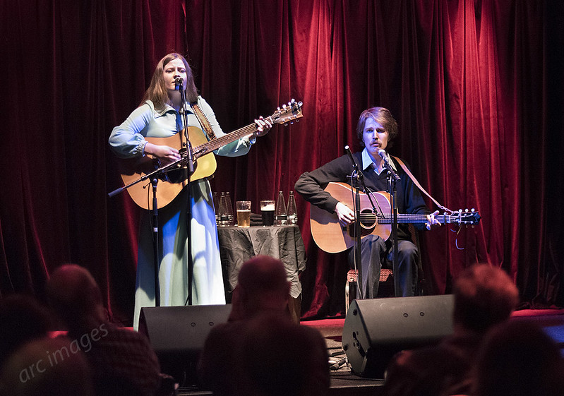 Kacy and Clayton at The Trades Club, Hebden Bridge