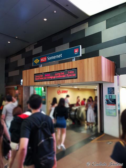Somerset MRT Station 01