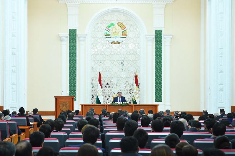 Мулоқот бо намояндагони васоити ахбори оммаи давлатӣ  20.02.2019