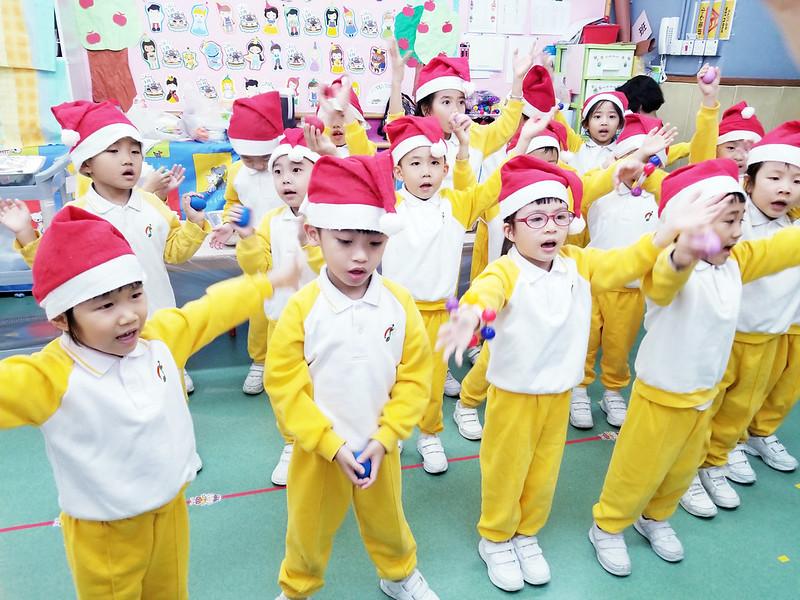 18-19年度親子聖誕節快樂慶祝會~愛級(K3)